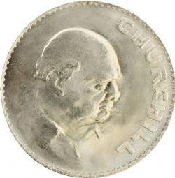 1965 CROWN UNC - Winston Churchill Crown Coin for sale